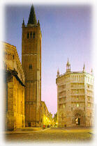 Piazza del duomo - Parma