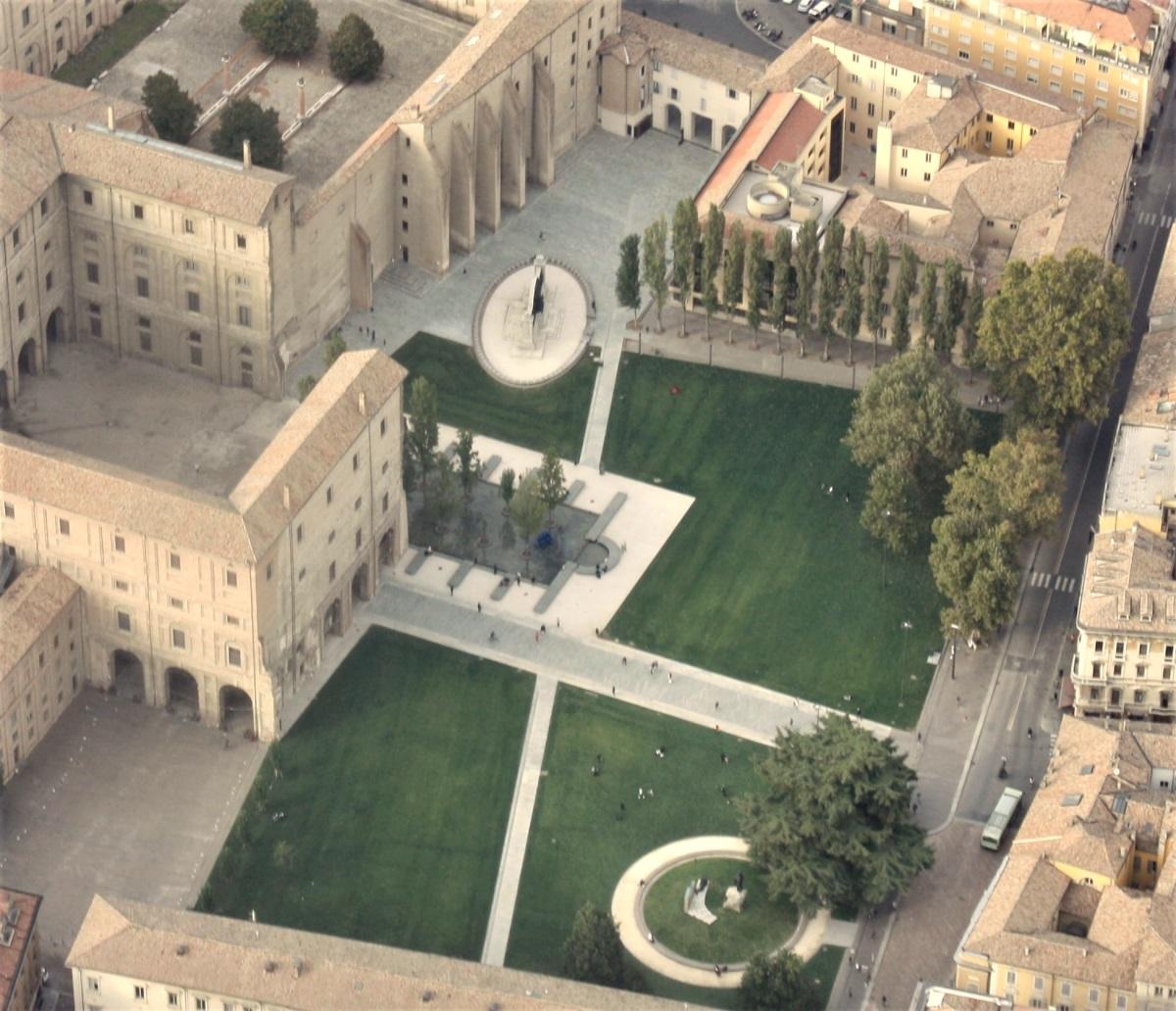 piazza della pace - parma